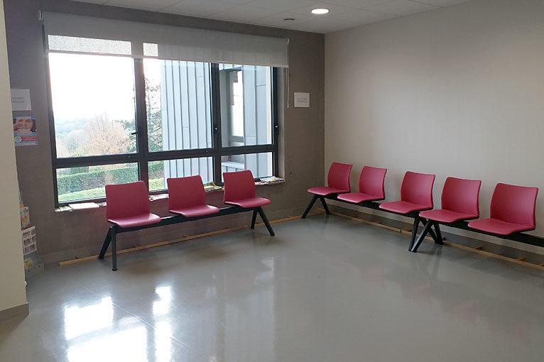 Salle d'attente Coutances - Clinique Opthalmologique