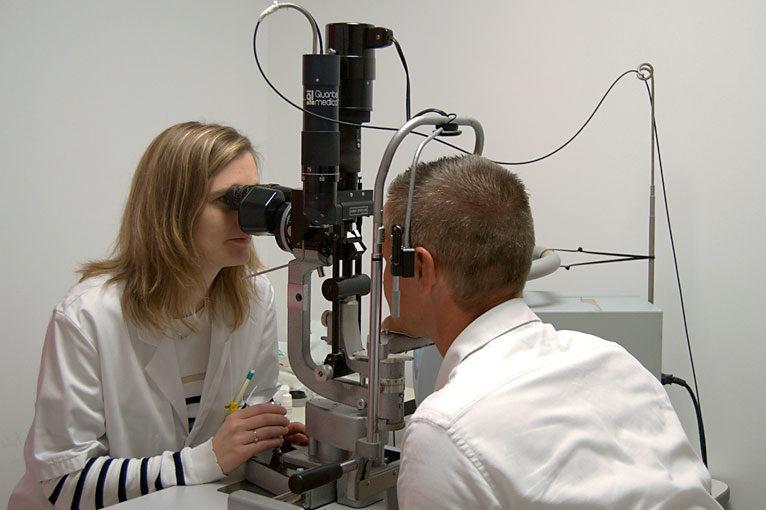 Laser Argon - Examen ophtalmologique AVRANCHES (50)